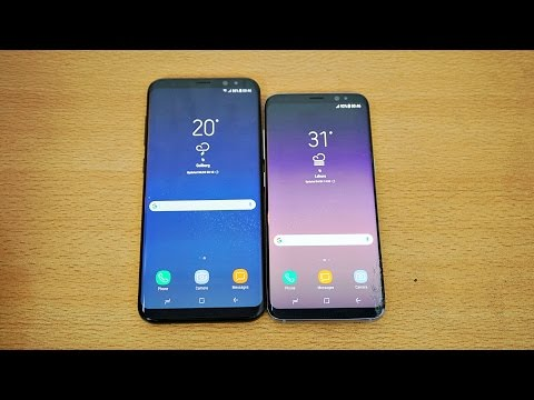 Samsung Galaxy S8 Plus Review Vs S8 Is Bigger The Better 4k