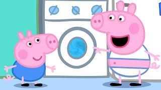 Свинка Пеппа на русском все серии подряд | Стирка с Свинка Пеппа | Мультики