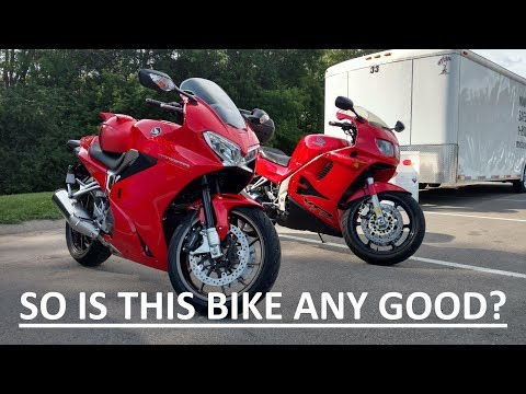 Episode 8.  Review of 2014 Honda VFR 800 after 3 months