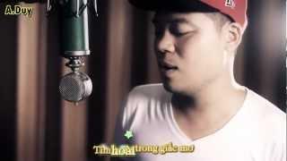 [HD] Kara Lyrics- Beautiful Girl - Cường Seven acoustic guitar cover by Dương Trần Nghĩa