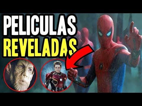 ¡Se filtraron 5 PELÍCULAS de la fase 4! más skrulls, Iron HEART Spider Man 3 Dark y Young Avengers