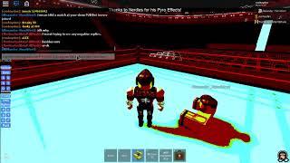 WWE Roblox: Coohayden vs runnels wwe title nhb p6