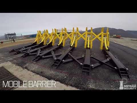 MVB: Modular Vehicle Barrier | Non-fatal stopping power