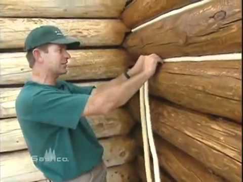 Что проложить между бревнами деревянного дома и бани из бревна и .
