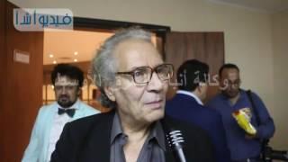 بالفيديو : الفنان سناء شافع وحديثه عن وكالة أنباء الشرق الأوسط والمونديال الخامس للأعمال الفنية