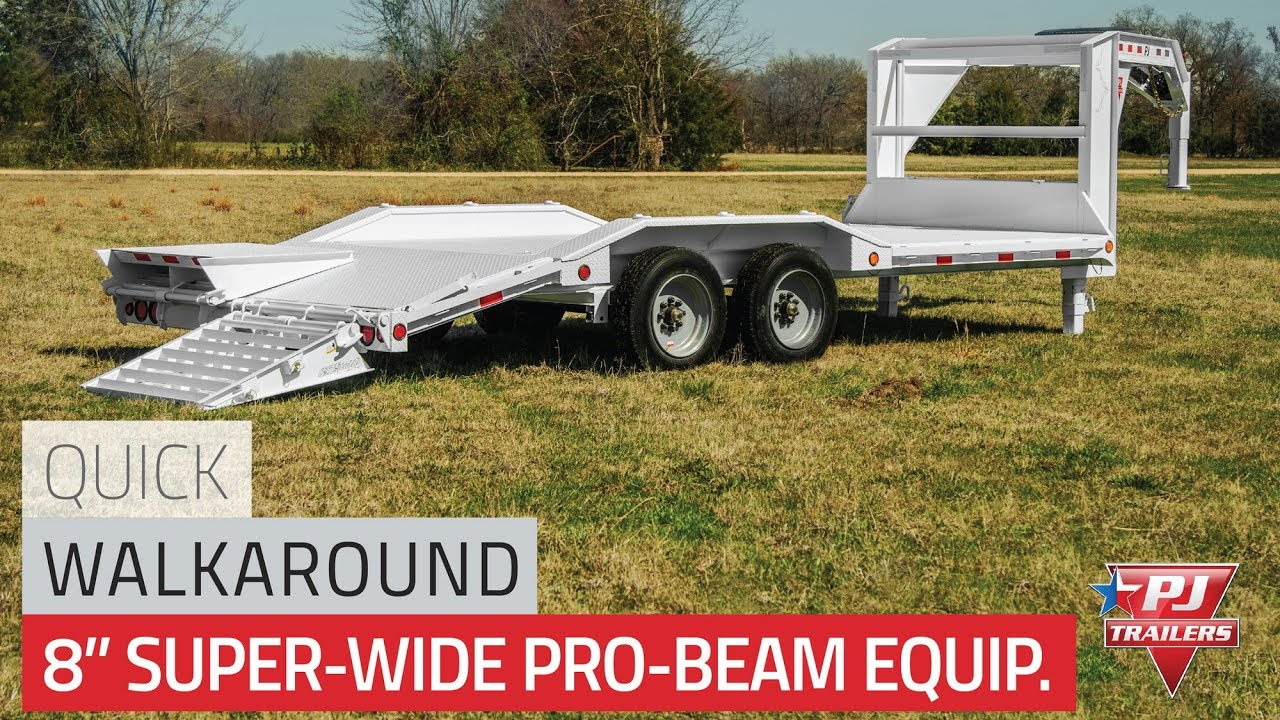 8 Pro Beam Super Wide Equipment Hauler H6 Quick Walkaround