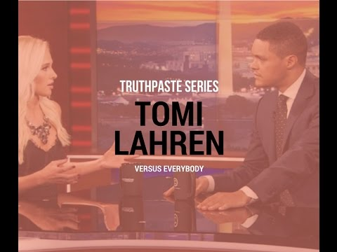 Truthpaste: Tomi Lahren On The Daily Show