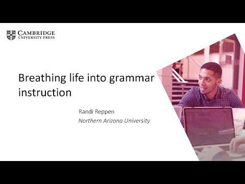 Breathing life into grammar instruction