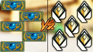 Valorant: 5 CS:GO Legends VS 5 Top100 Radiants!