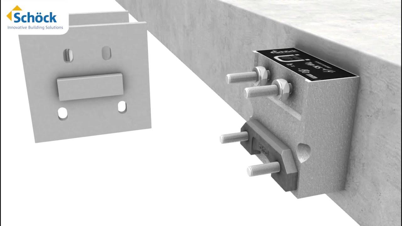 sch ck isokorb ks kuldebrobrydende l sning til frit. Black Bedroom Furniture Sets. Home Design Ideas