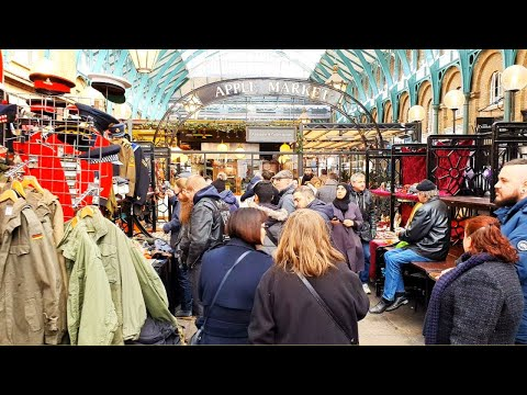 Covent Garden And The Apple Market To Seven Dials [London Walking Tour]