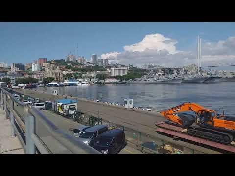 Владивосток.  Любимый город, любимая бухта Золотой Рог