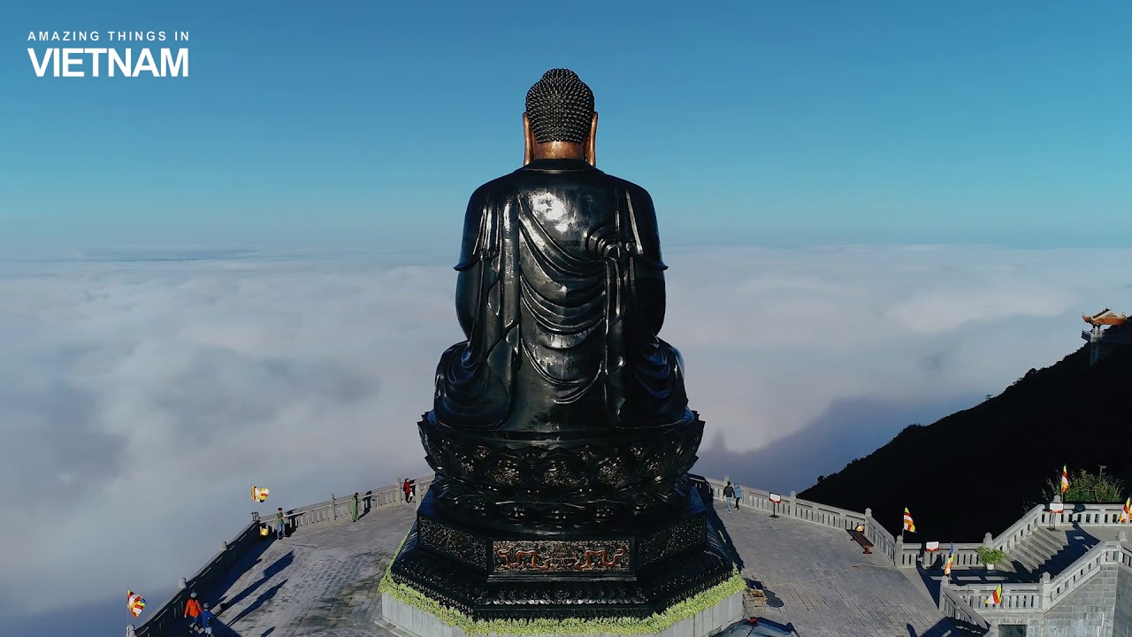 The highest bronze statue in Vietnam - Travel Fansipan