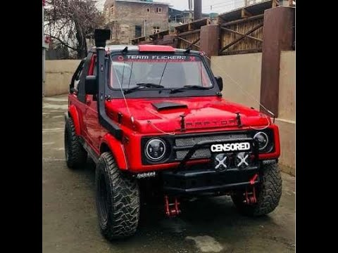 maruti gypsy modified compilation tagged videos on VideoHolder