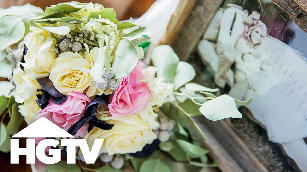 How to Preserve Your Wedding Bouquet - HGTV - YouTube