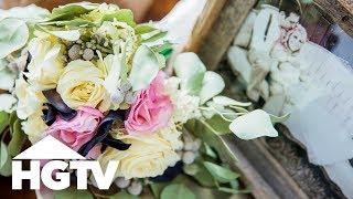 كيفية الحفاظ على باقة الزفاف - HGTV