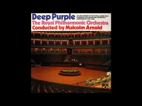 Deep Purple & The Royal Philharmonic Orchestra - Concerto For Group And Orchestra [1970] (Full Album