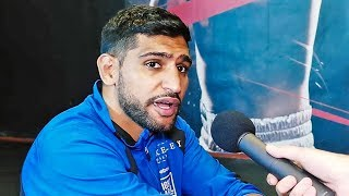 Amir Khan RESPONDS to Billy Dib's COMMENTS! - Amir Khan vs. Billy Dib