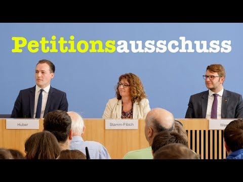 Bürger-BPK mit Mitgliedern des Petitionsausschuss des Bundestags