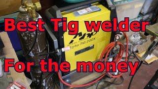 Best Budget Tig welder set up AHP Alpha Tig 200DX Review