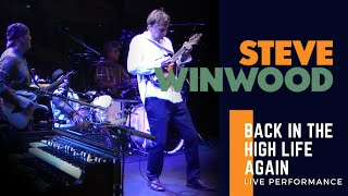 steve winwood   quotback in the high life againquot live performance