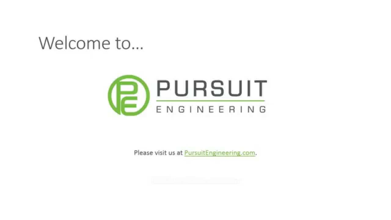 About Us — Pursuit Engineering