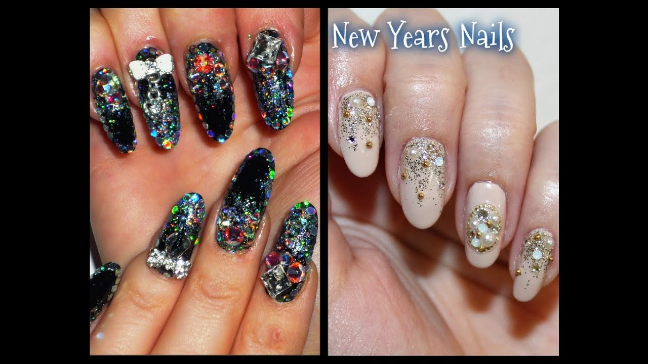 New Year\'s Eve Nails Collab With Kirakiranail - YouTube