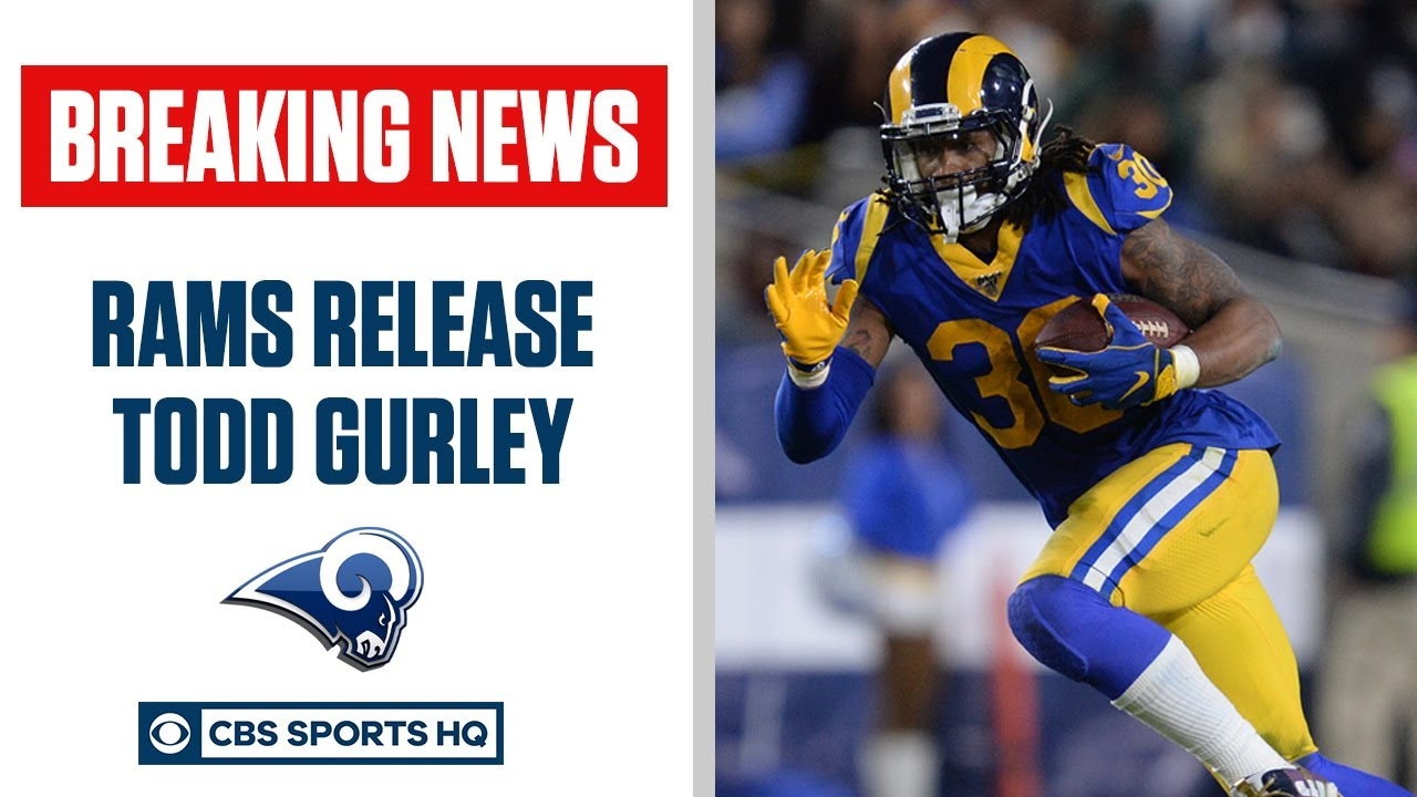 Los Angeles Rams release running back Todd Gurley