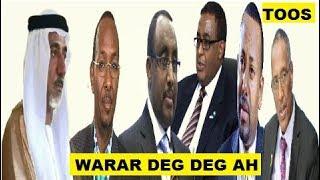 Warar Deg Deg Ah Dharbaaxdaya Itoobiya Ee Somaliland, Musuq maasuq Gaas, Sanbalooshe & Imaaraadka