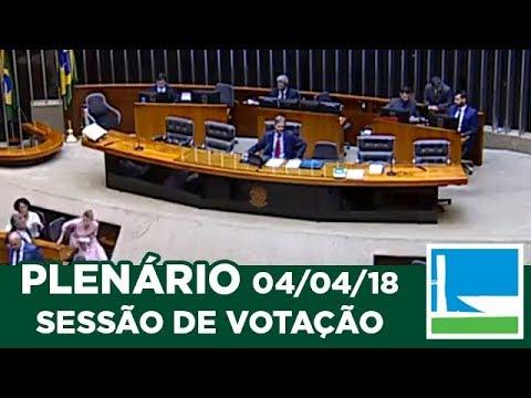 PLENÁRIO - Sessão Deliberativa - 04/04/2018 - 13:31