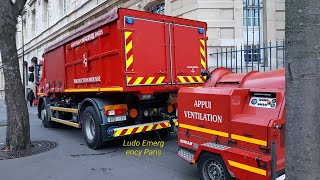 Pompiers de Paris en urgence Paris Fire Dept responding Best of 2018