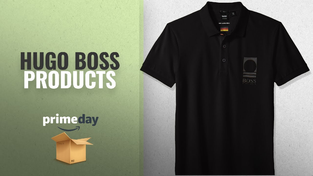 c53fd7a8 Hugo Boss Prime Day Deals 2018: BOSS Orange Men's World Cup Soccer Country Polo  Shirt, Germany,