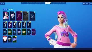 *NEW* All the new Leaked Fortnite Outfits + Backblings ( Visitor Challenges Skin and more .. )