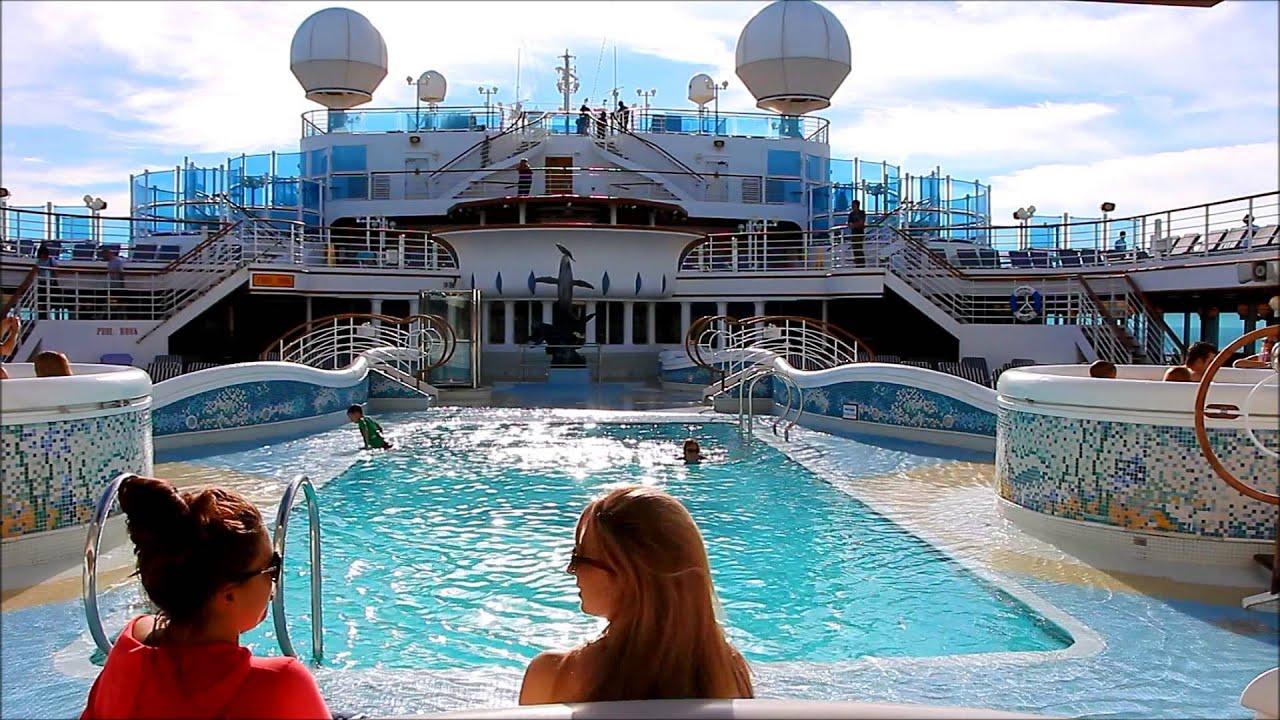 Having Fun On The Sapphire Princess Cruise Ship Youtube