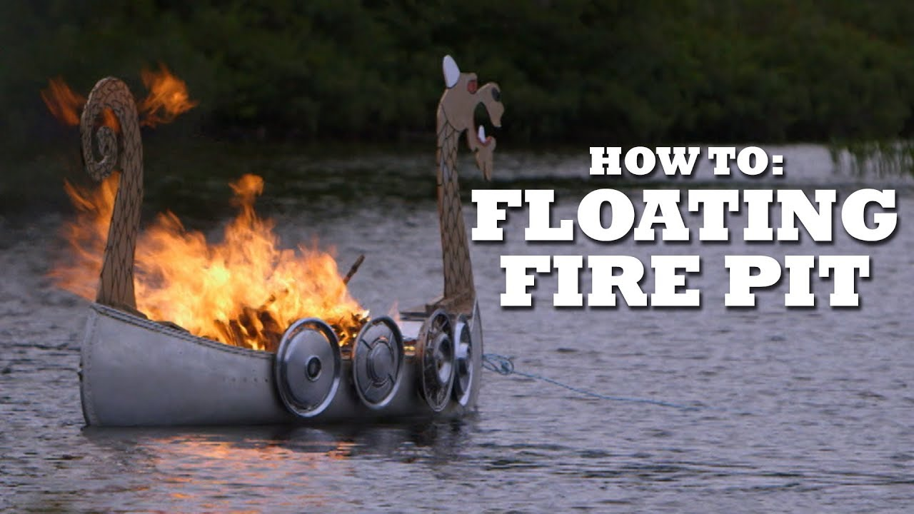 The Ultimate FLOATING Fire Pit - The Ultimate FLOATING Fire Pit - YouTube