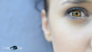 Colour Contact Lenses PartyEye D BROWN / Brązowe soczewki kolorowe