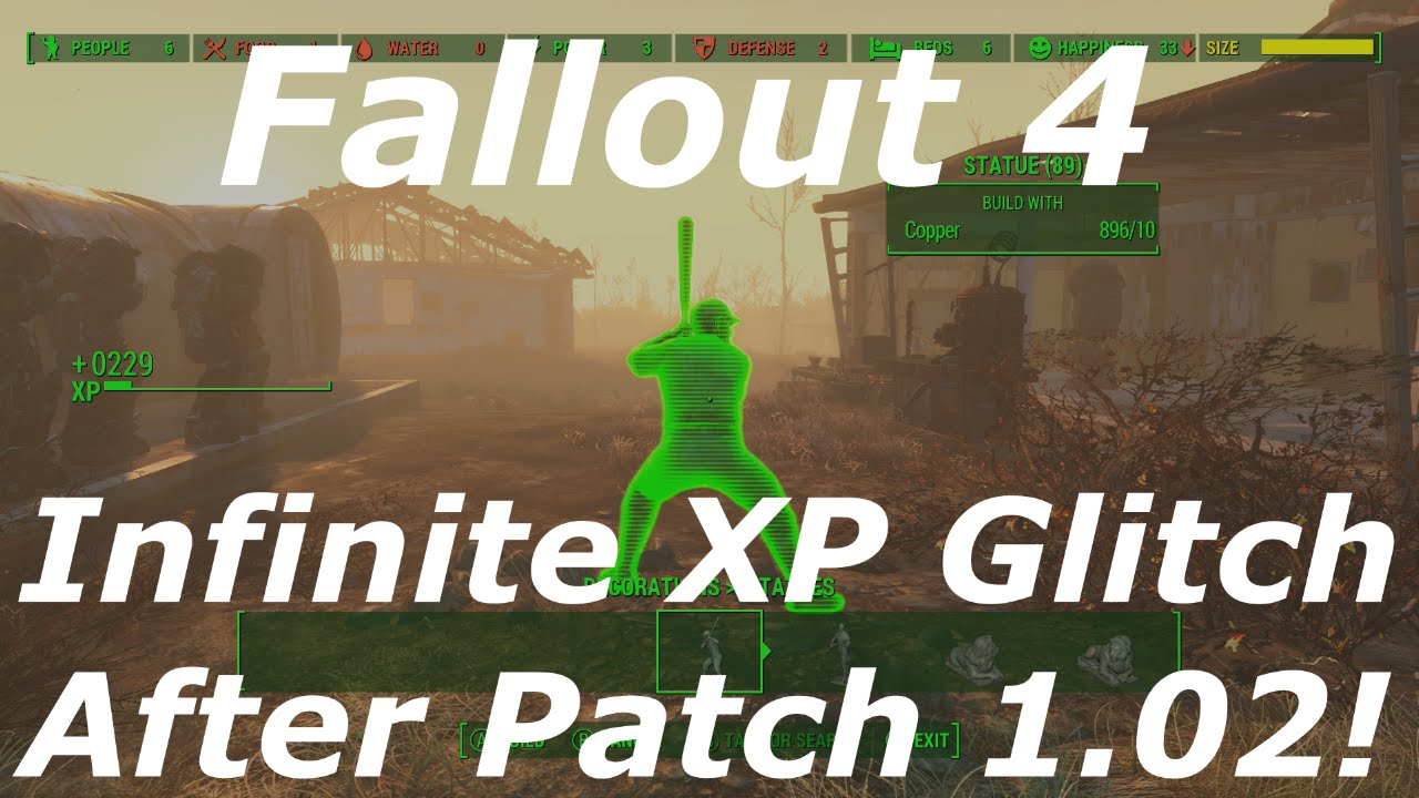 Fallout 4 Unlimited/Infinite Caps Glitch AFTER PATCH