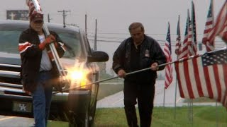 Traveling hundreds of miles to give a final salute: CBSN Special