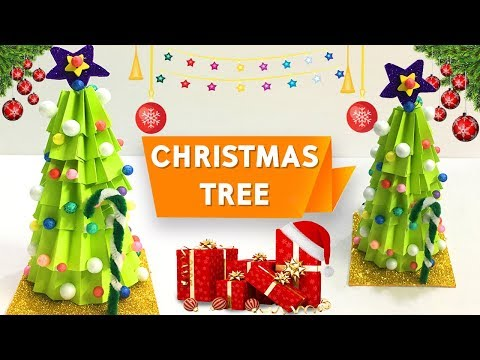 Christmas Tree | How To Make Christmas Tree With Paper | DIY Paper Craft Ideas | Do Craft