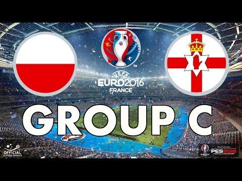 PES 2016 - EURO 2016 - Group C - Poland v Northern Ireland
