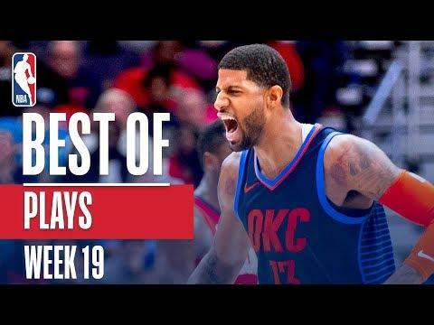 NBA's Best Plays | Week 19