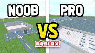 ROBLOX NOOB vs PRO in ITTY BITTY AIRPORT