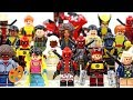 Deadpool 2 & The X-Men Unofficial LEGO Minifigures