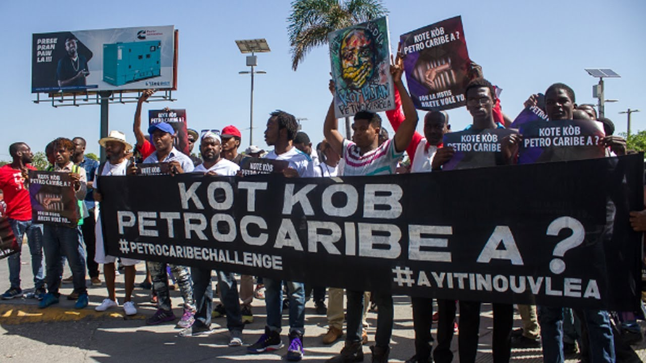 Haiti: Weeks of Protests Demanding the Resignation of the President