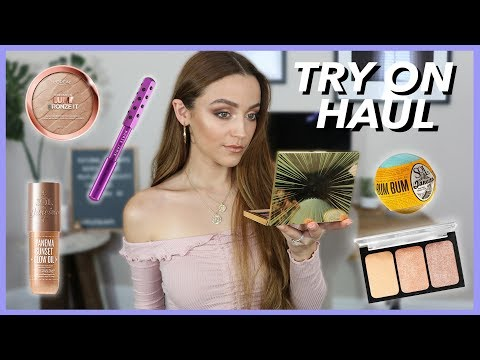 CVS + SEPHORA HAUL | Drugstore + High End Makeup