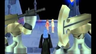 Kingdom Hearts 2: Namine saves Kairi