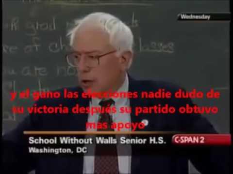 Bernie Sanders Chile y EEUU