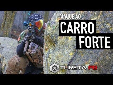 ATAQUE AO CARRO FORTE ► Magfed Paintball | Paintball Tático | ADRENA BASE 1