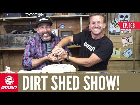 The Perfect Body For Mountain Biking? | Dirt Shed Show Ep. 168