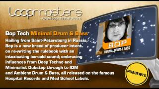 Minimal Drum Bass Samples Bop and Royalty Free Producer Sounds by Loopmasters